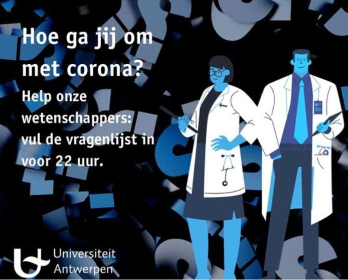Coronastudie UAntwerpen