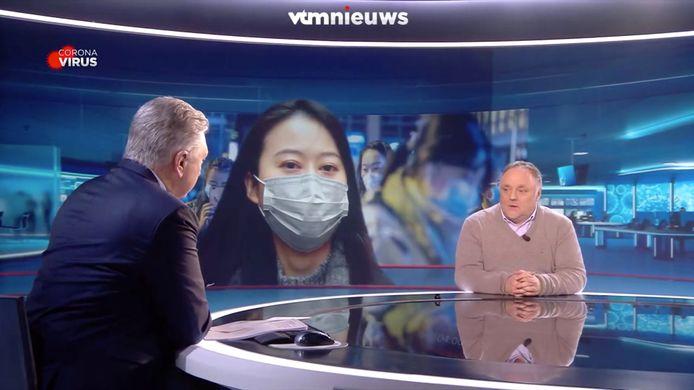 VTM Nieuws - Dany Verstraeten en Marc Van Ranst