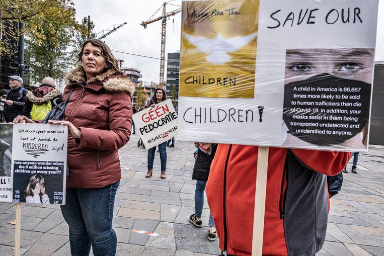 De poging tot heroprichting van de Partij voor Naastenliefde, Vrijheid en Diversiteit (PNVD), beter bekend als de 'pedopartij', heeft een katalyserende werking gehad. Een demonstratie in Utrecht trok in oktober enkele honderden  bezoekers.  Beeld Joris Van Gennip