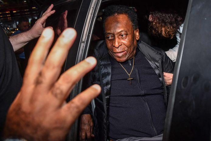 Pelé, hier op een archiefbeeld uit 2019.