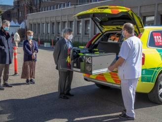 RZ Tienen neemt nieuwe MUG-wagen in gebruik