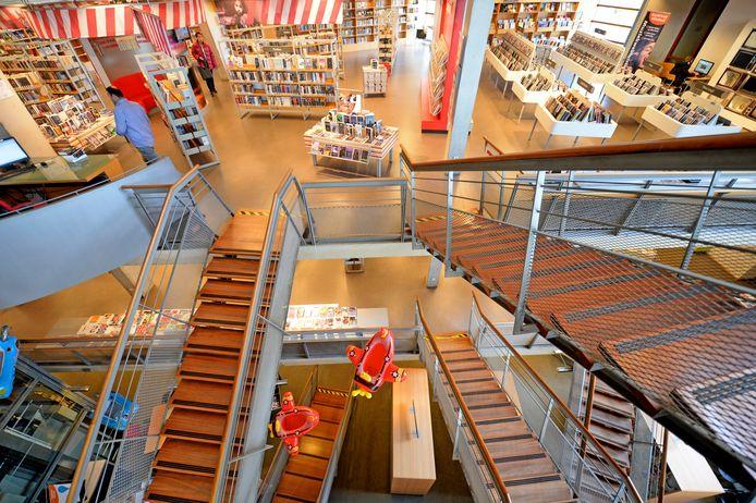 De Almelose bibliotheek.