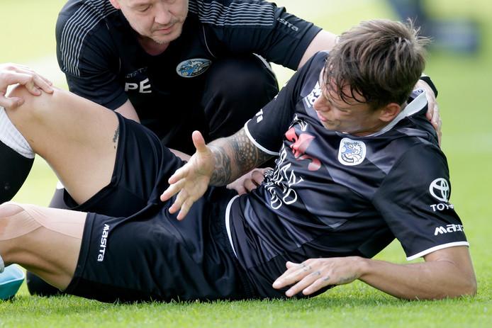 De blessure van Beltrame zag er zondag in eerste instantie niet goed uit, maar lijkt nu toch mee te vallen.