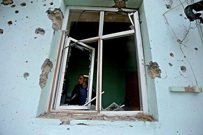 Bakharly, dans la région Nagorny Karabakh,le 1er octobre dernier.