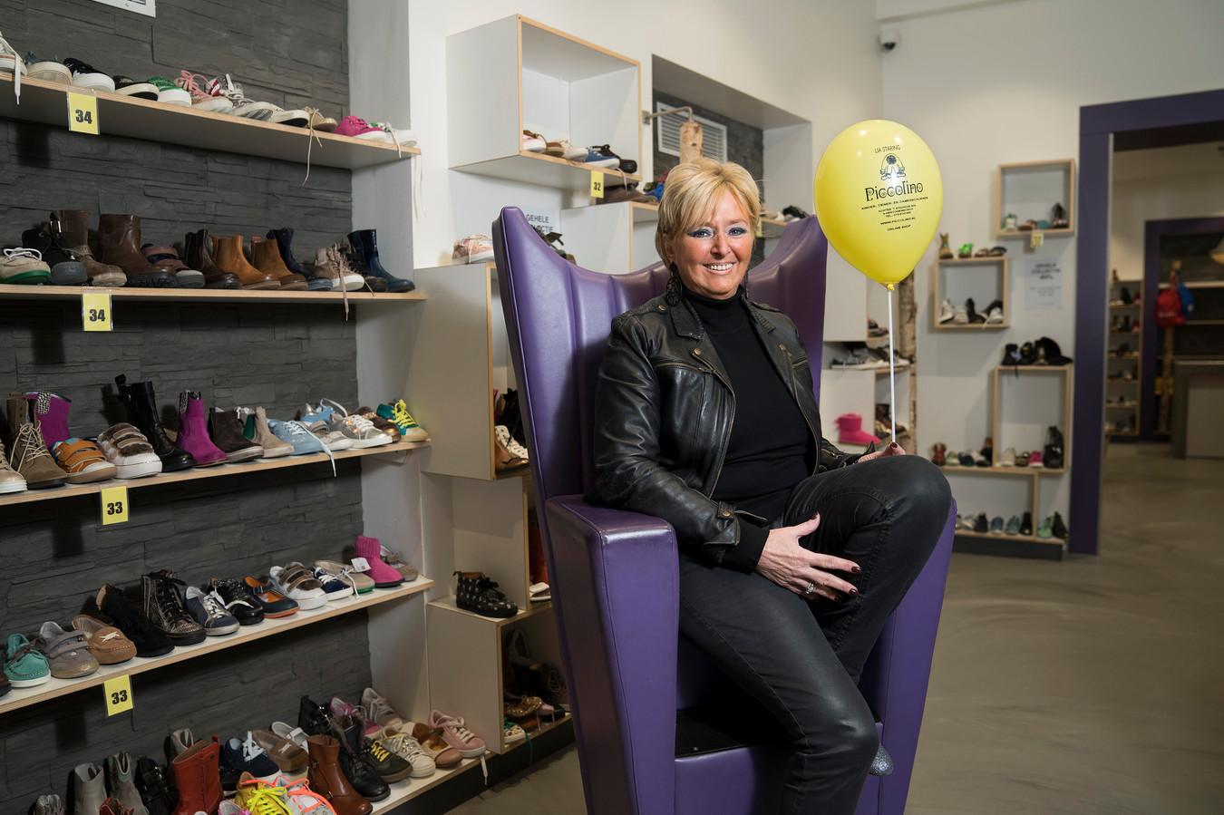 Den Bosch 20-11-2018  Lia Staring stopte na 35 jaar met haar kinderschoenenwinkel Piccolino.    Roy Lazet