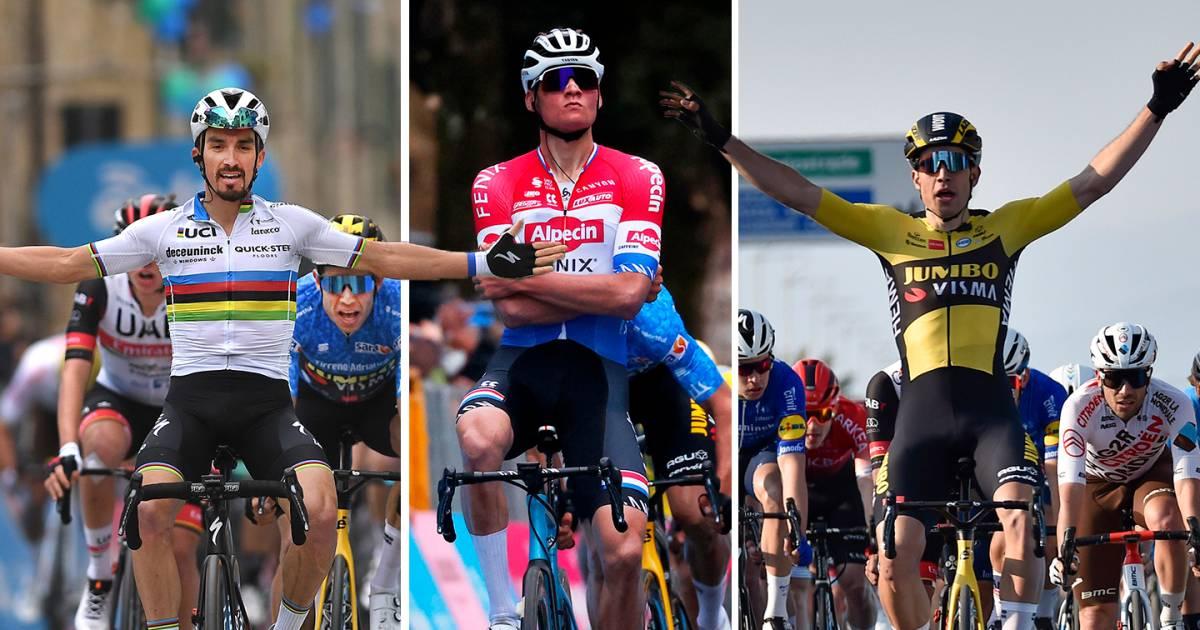 Van der Poel, Van Aert or Alaphilippe? Experts on the top favorites in  Milan-San Remo   Milan - San Remo - Netherlands News Live