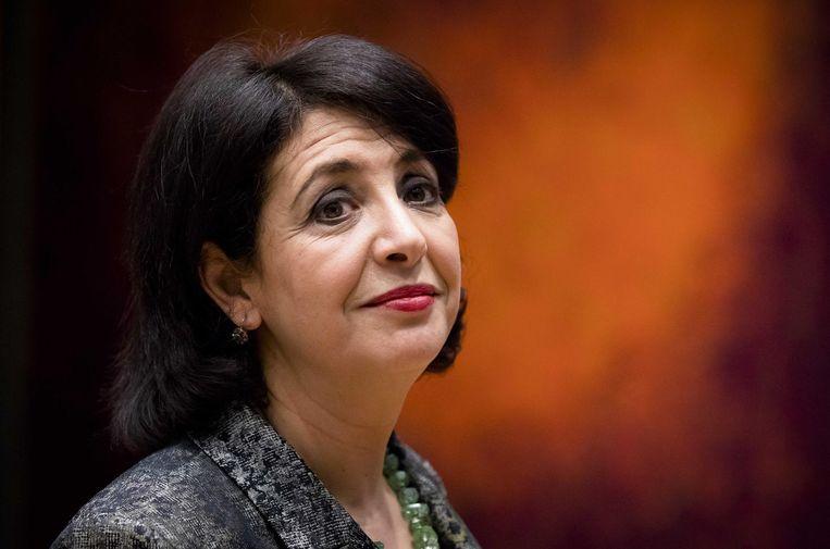 Voorzitter van de Tweede Kamer Khadija Arib Beeld anp