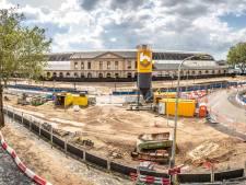 Dertien meter de grond in voor grootste bouwkuip van Zwolle