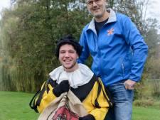 Jeroen uit Almelo is de allereerste Rolstoelpiet bij het Sinterklaasfeest van Zapp