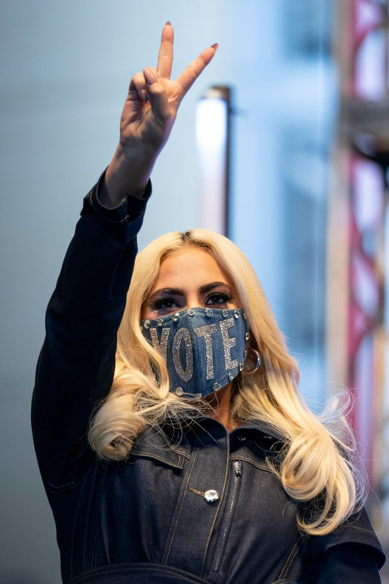 Lady Gaga Beeld Getty Images