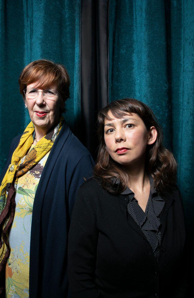 Mei Li Vos en Annemarie Jorritsm Beeld Judith Jockel