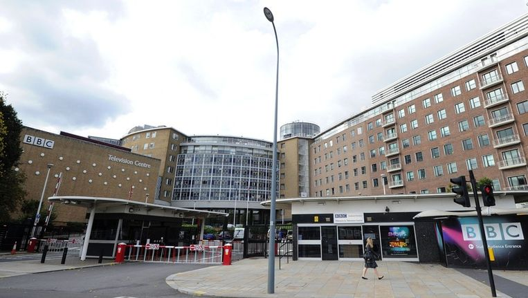 De BBC-gebouwen in Londen. Beeld afp