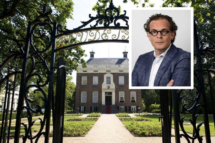 Buitenplaats Goudestein in Maarssen waar het college van b en w van Stichtse Vecht zetelt. Inzet: Jeroen-Willem Klomps.