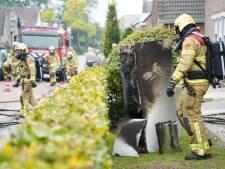 Veel schade door brand in woning Didam