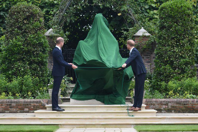 Onthulling standbeeld prinses Diana Beeld BrunoPress