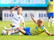 RKC Waalwijk op eigen veld ongelukkig onderuit tegen Vitesse