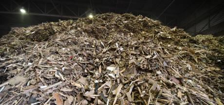 Streep door biomassacentrale in Gilze