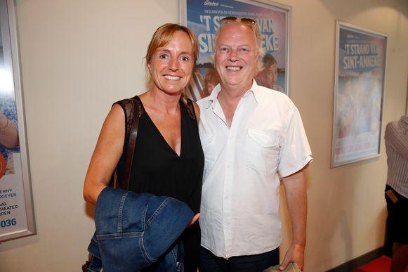 An Swartenbroekx met haar partner Guido