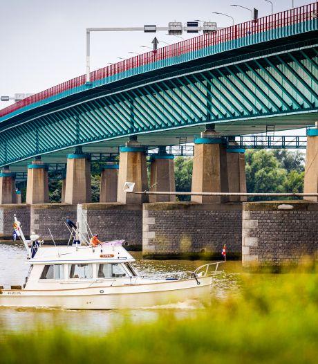 Regio wacht met angst en en beven op sluiting rijstroken Haringvlietbrug