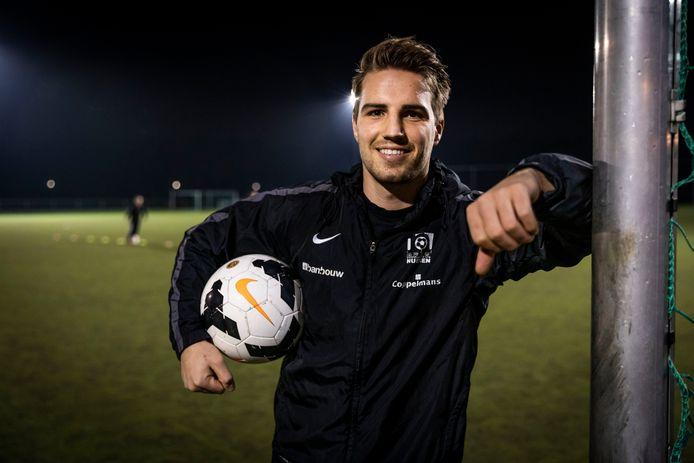Joey Maas, verdediger van RKSV Nuenen.