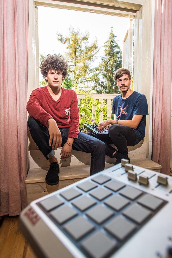 David Berman (rechts) en Vos van der Noordt.