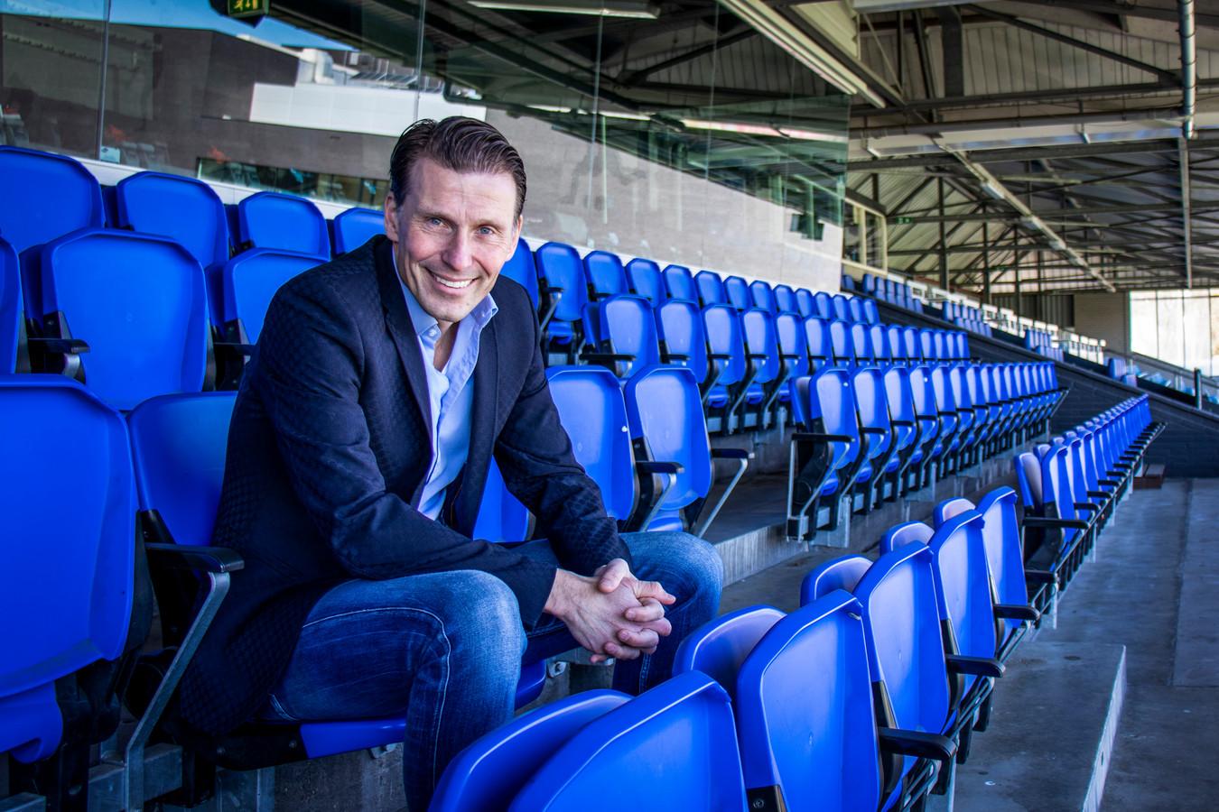 Justin Goetzee, interim-directeur van FC Eindhoven