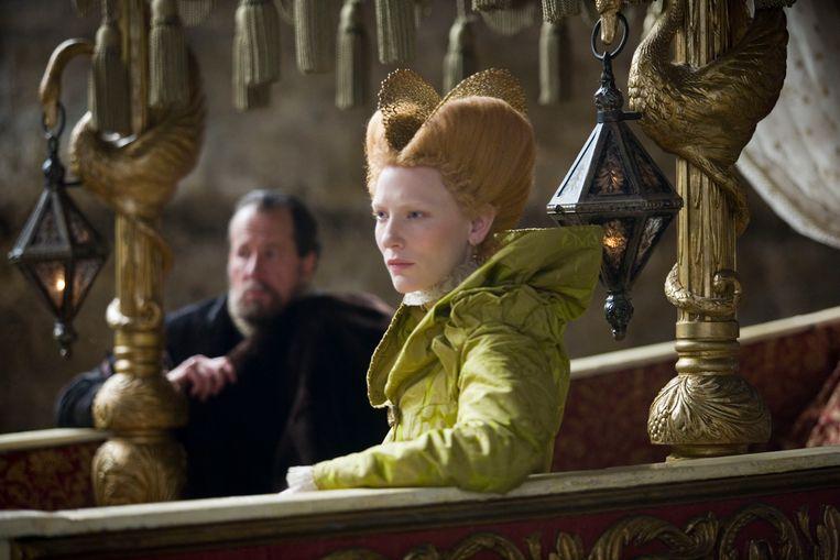 Cate Blanchett als koningin Elizabeth I. Beeld  Laurie Sparham