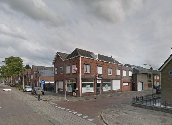 In dit pand aan de Bredaseweg is sinds een paar jaar een tapasbar gevestigd. Hier vond in 2011 een schietpartij plaats.