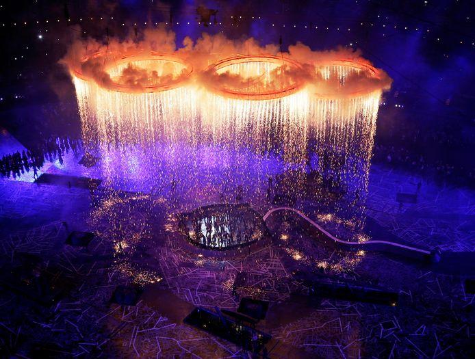De openingsceremonie in Londen.