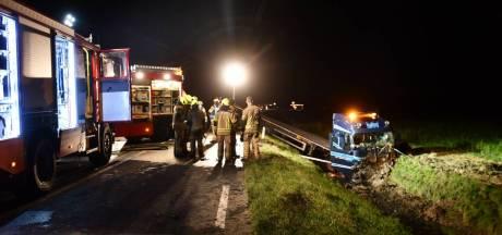 Trucker (48) gewond bij ongeluk op N57, politie zoekt getuigen