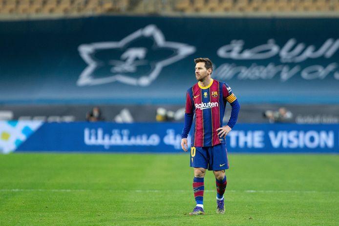Le Barça espère faire réduire la suspension de deux matchs infligée à Messi après son coup de sang en finale de la Supercoupe.