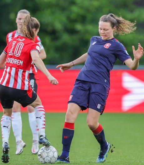 FC Twente Vrouwen wint topper bij PSV en gaat vol vertrouwen de kampioensgroep in