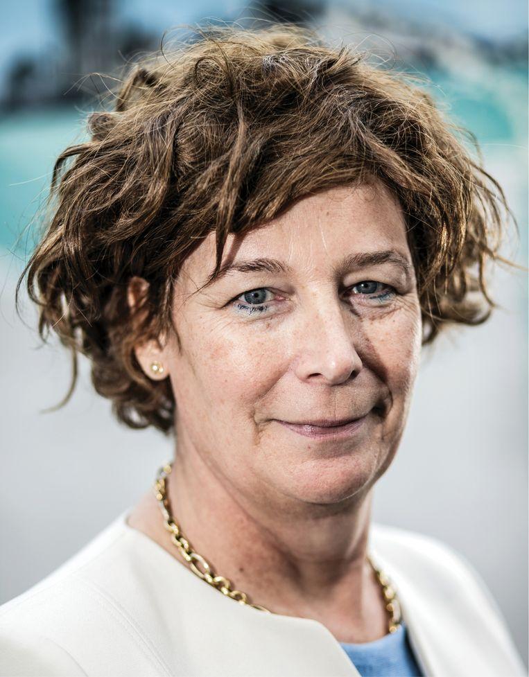 Petra De Sutter: 'Vrouwen krijgen best zo jong mogelijk kinderen. Dat mag duidelijker gezegd worden.' Beeld Bob Van Mol