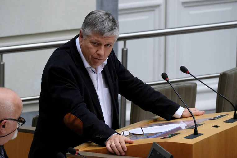 Vlaams minister van Volksgezondheid Jo Vandeurzen (CD&V). Beeld BELGA
