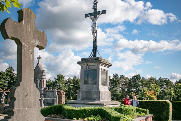 Het kerkhof van Temse.