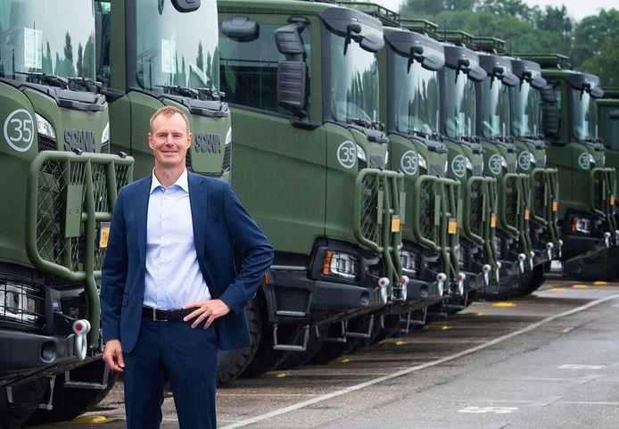 Johan Uhlin, algemeen directeur van Scania Productions in Zwolle en Meppel.