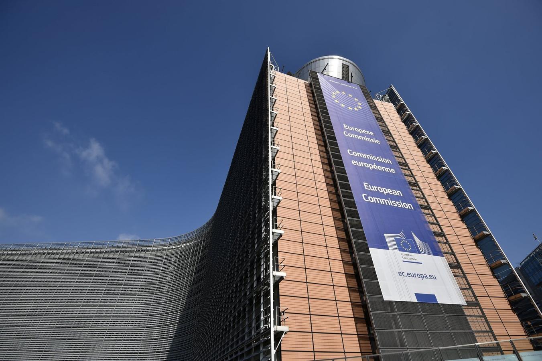 Le Berlaymont, siège de la Commission européenne, Bruxelles.