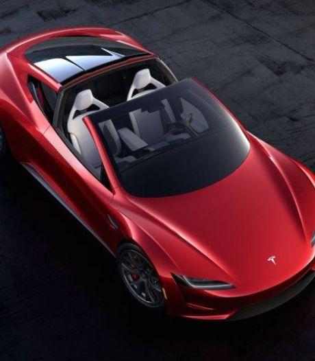 Tesla Roadster volgend jaar te koop: 0-100 km/u in nog geen twee seconden