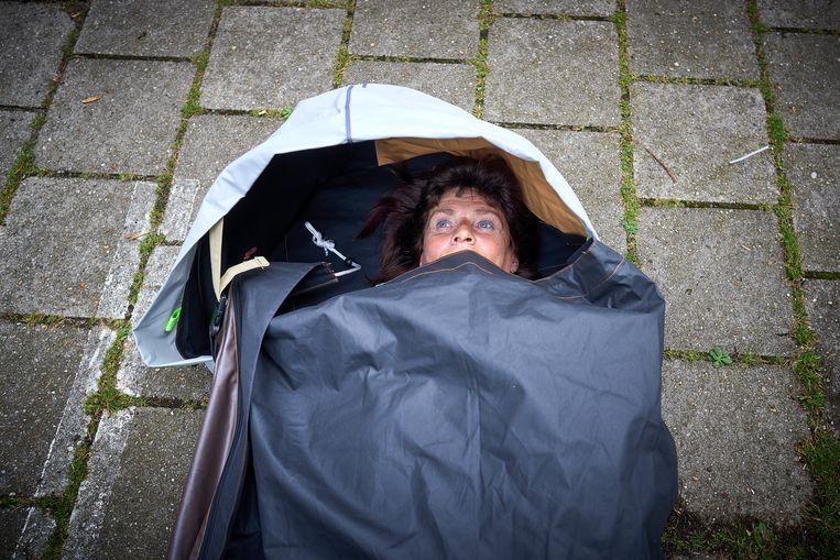 De shelterbag. Beeld Phil Nijhuis
