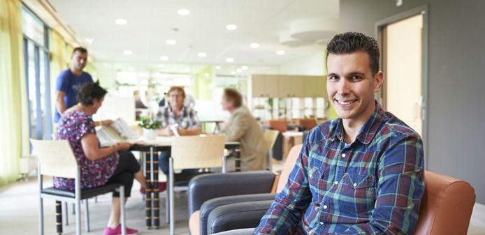 Martijn van Dongen, teamleider op de nieuwe afdeling IC te Oss