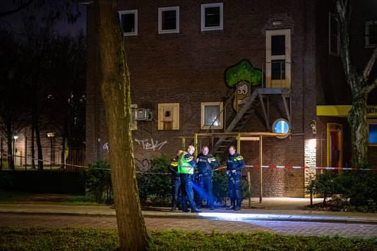 Onderzoek na de schietpartij in de wijk Dieze-Oost in Zwolle.