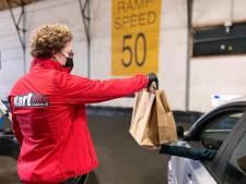 Met je eigen auto de kartbaan op om eten af te halen? Hier kan het!