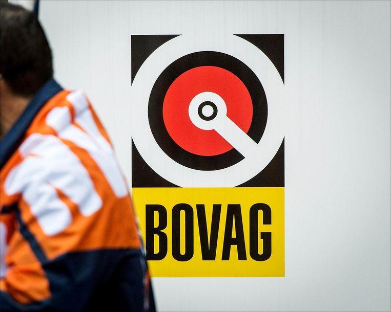 Het logo van Bovag, brancheorganisatie voor bedrijven die zich met mobiliteit bezighouden. Beeld anp