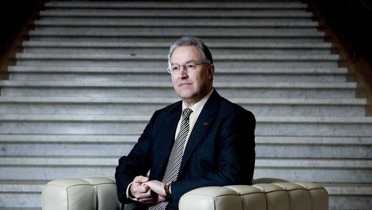 Portret van de Rotterdamse burgemeester Ahmed Aboutaleb Beeld anp