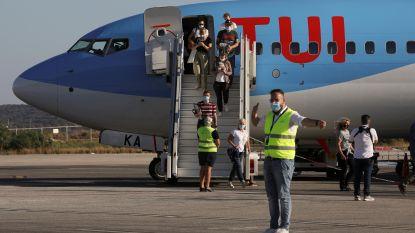 """TUI: """"Reizen naar rode zones waren al gecanceld"""""""