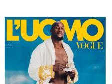 Romelu Lukaku prend la pose en sous-vêtements pour la Une de Vogue en Italie