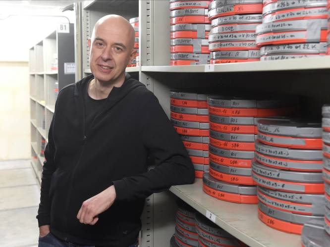 Op bezoek in het VRT-archief, waar 11 jaar geploeterd werd om 53.221 films te bewaren