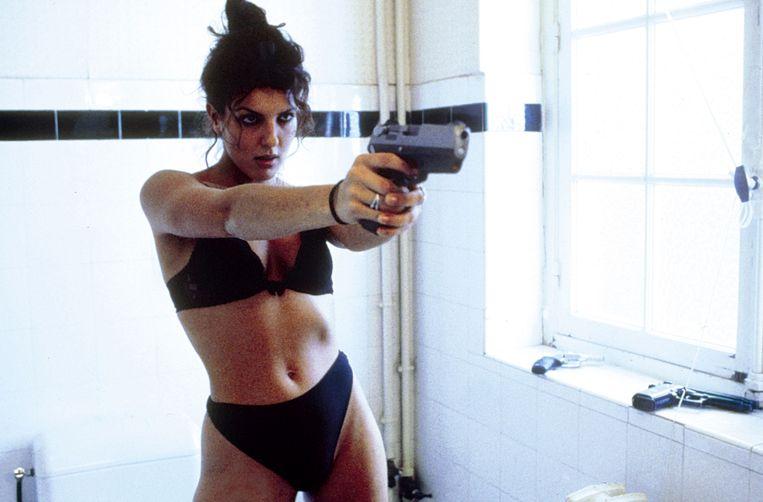 Karen Lancaume in Baise-moi. 'Deze film is het omgekeerde van porno', zei ze. Beeld Alamy Stock Photo