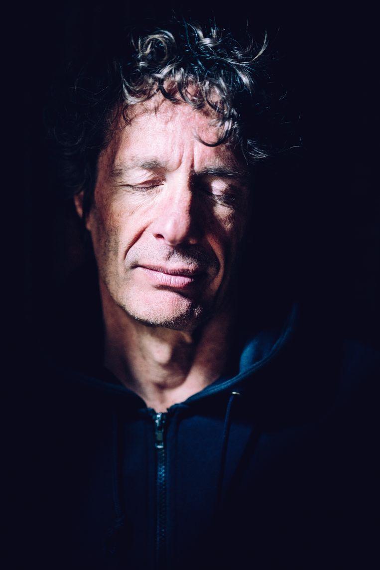 'Ik vind die vooruitgangsoptimisten, zoals een Maarten Boudry, op een bepaalde manier nog gevaarlijker dan de klimaatontkenners.' Beeld Stefaan Temmerman