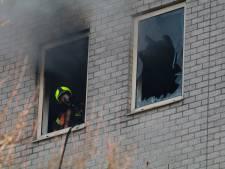 Bewoners verbaasd: twee branden op één dag in Goudse flat, hóe kan dat?